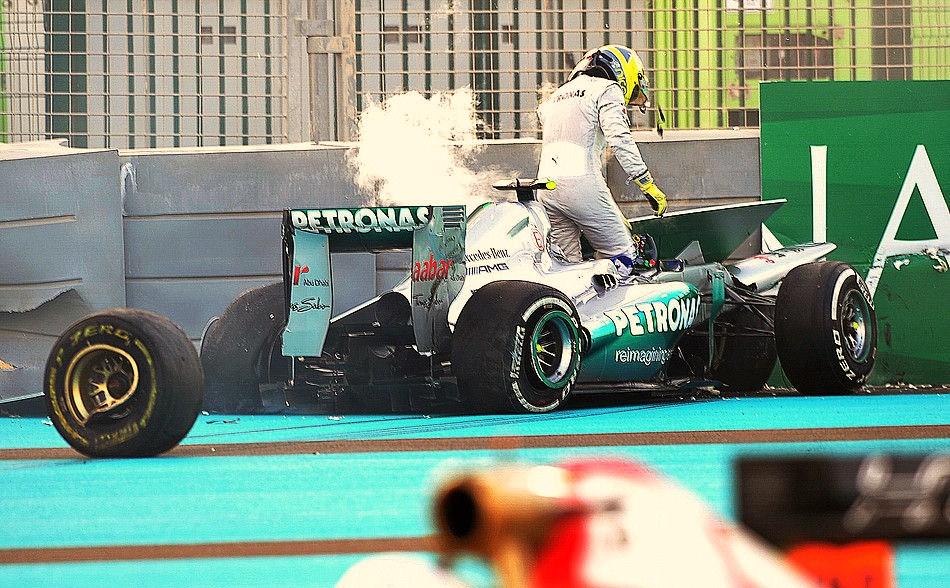 2012 Abu Dhabi Grand Prix Yas Marina Circuit