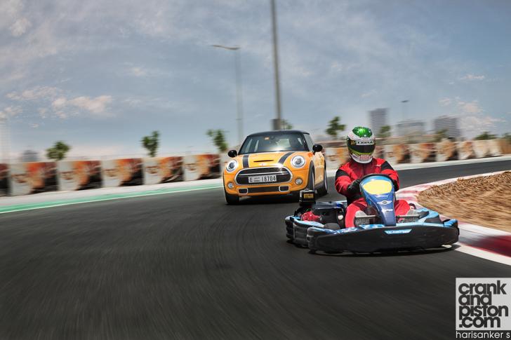 Mini Cooper S Vs Sonali Go Kart Teaser 62