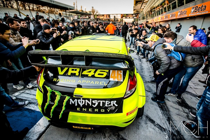 Valentino Rossi 2015 Monza Rally Show MCH Photo-2