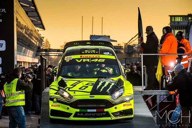 Valentino Rossi 2015 Monza Rally Show MCH Photo-9