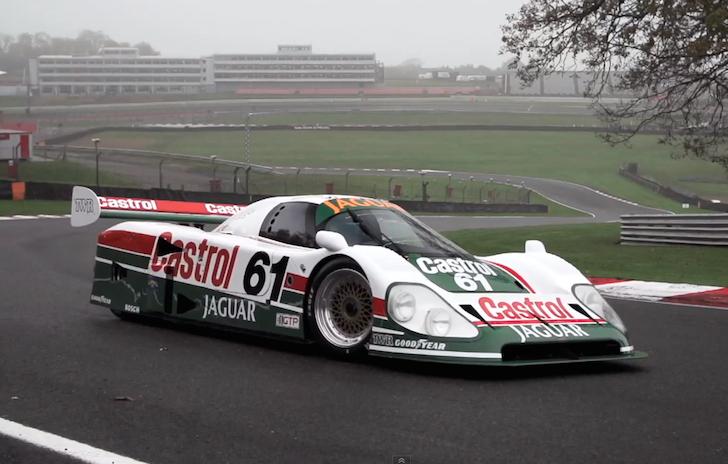Daytona 24 Hours Jaguar XJR-9 Chris Harris 01