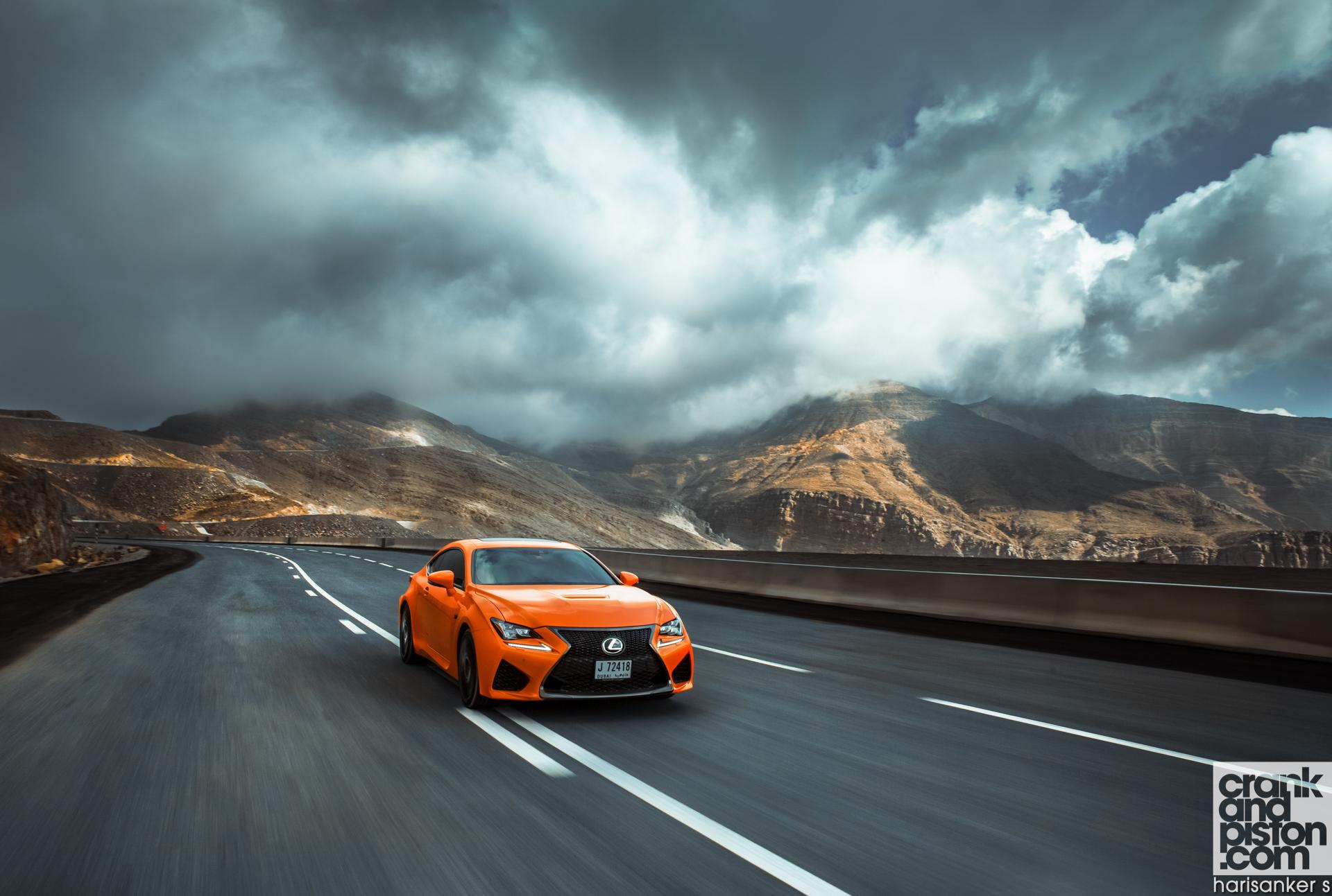 Lexus RC F crankandpiston wallpapers-02