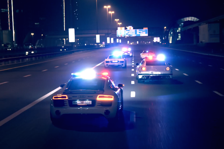 Dubai Police Supercars 02