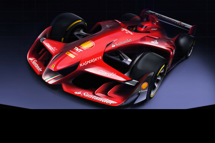 Ferrari Designs F1 Concept-1