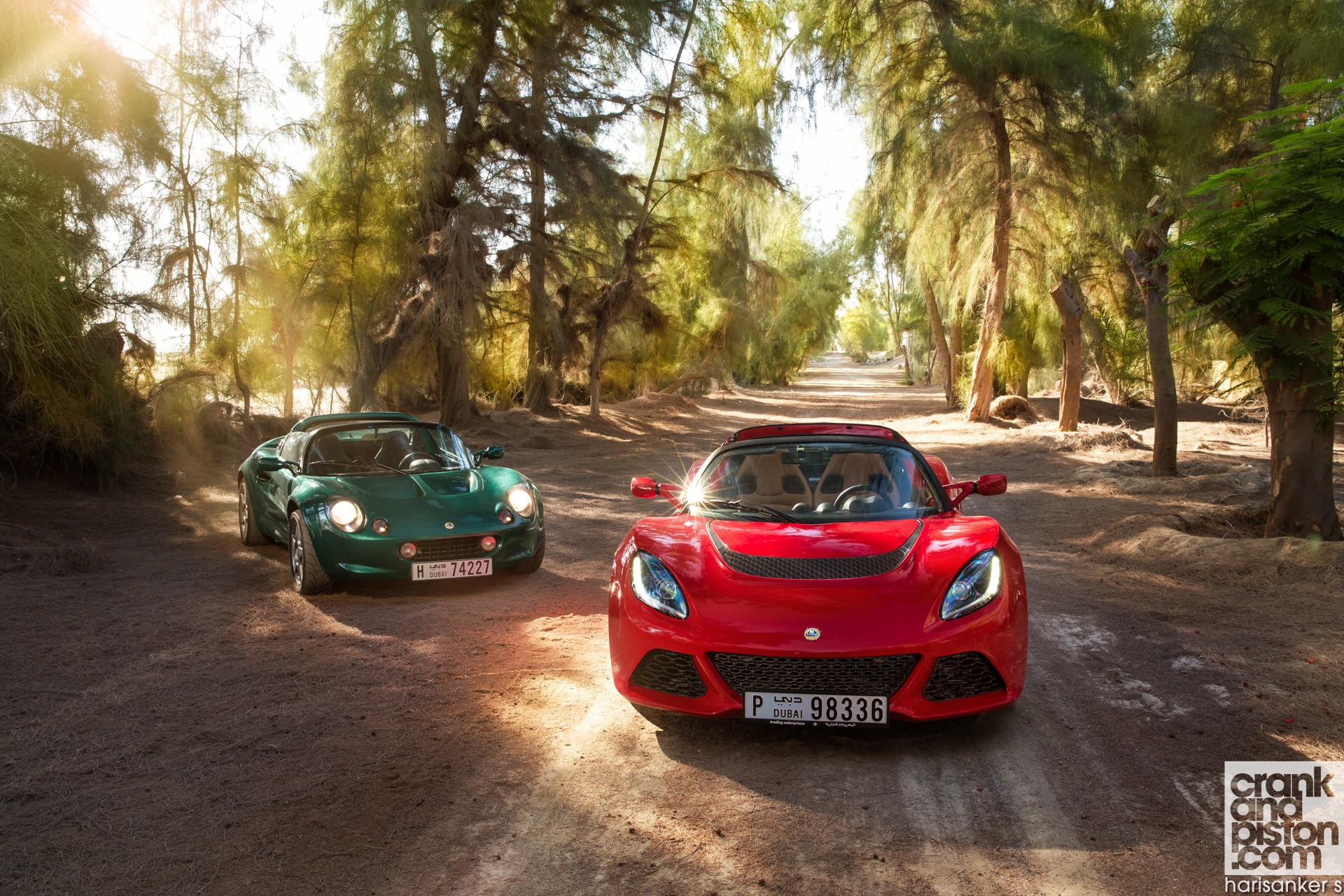 Lotus Elise 111S vs Lotus Exige S Roadster crankandpiston Wallpapers-2