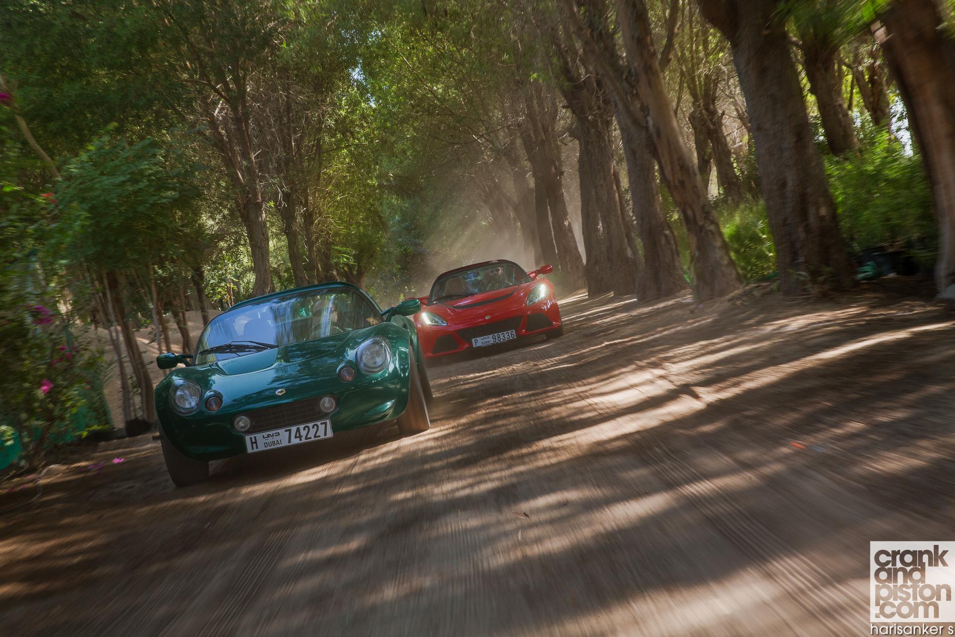 Lotus Elise 111S vs Lotus Exige S Roadster crankandpiston Wallpapers-7