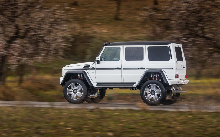 New mercedes benz g 500 4x4 squared first drive for Mercedes benz g wagon squared