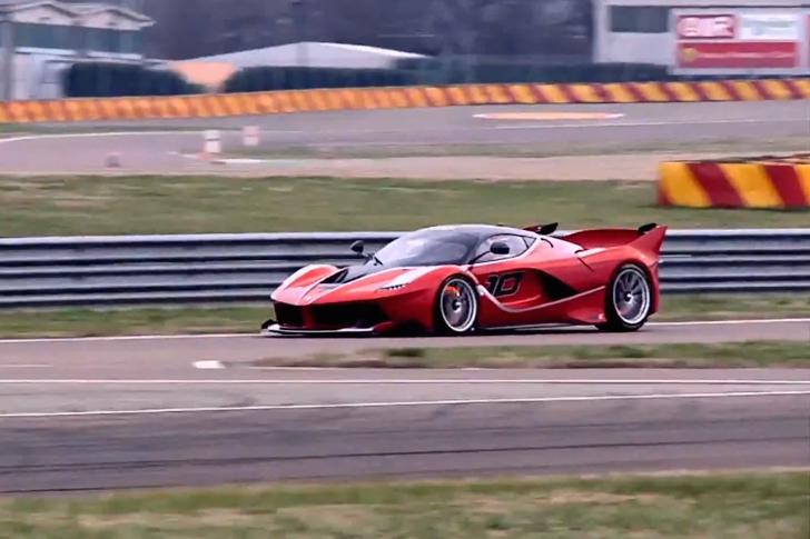 Sebastian Vettel Ferrari FXX K-7