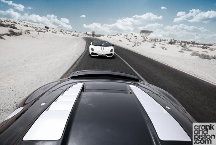 Audi R8 Spyder vs Lamborghini LP 570-4 Performante crankandpiston-9