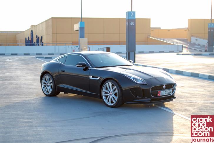 Jaguar F-TYPE Coupe V8 R Management Fleet (March)-1