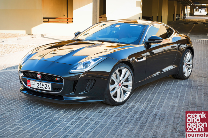 Jaguar F-TYPE Coupe V8 R Management Fleet (March)-4
