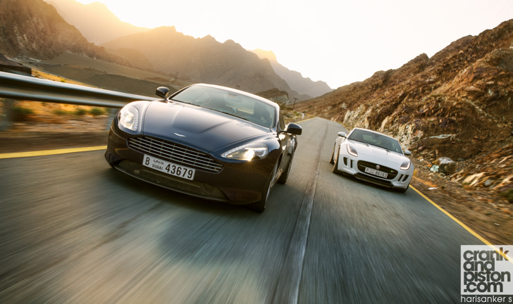 Nissan GT-R vs Jaguar F-TYPE vs Aston Martin DB9-36