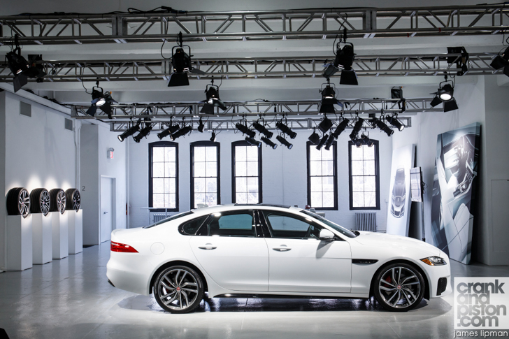 2015 New York Motor Show Jaguar XF-20