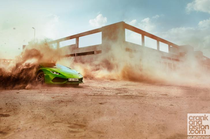 Lamborghini Huracan crankandpiston-1