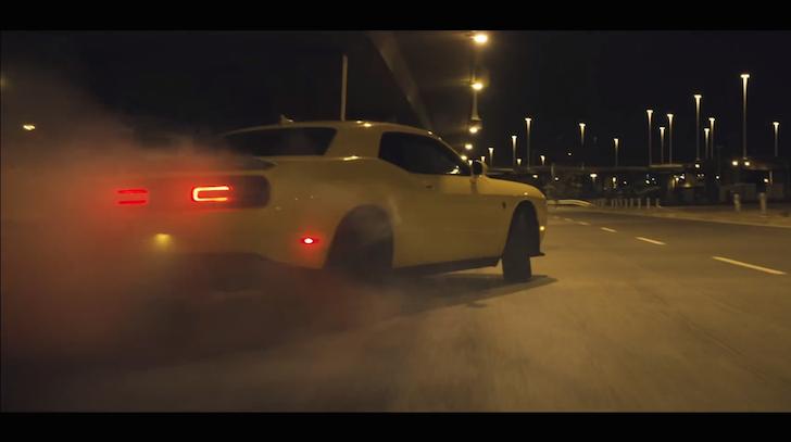 Pennzoil Behind the scenes Dodge Challenger SRT Hellcat 02