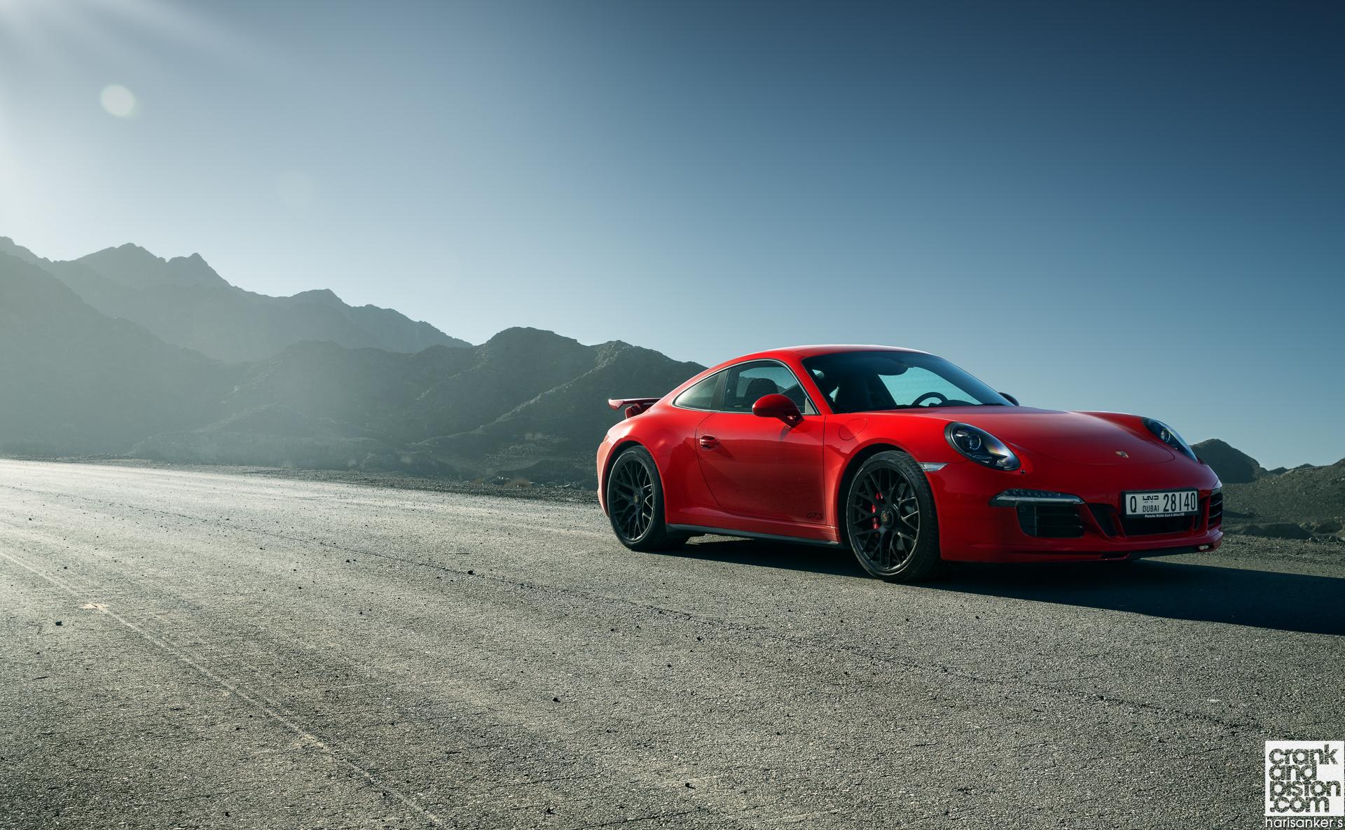 Porsche Carrera GTS. Set 1