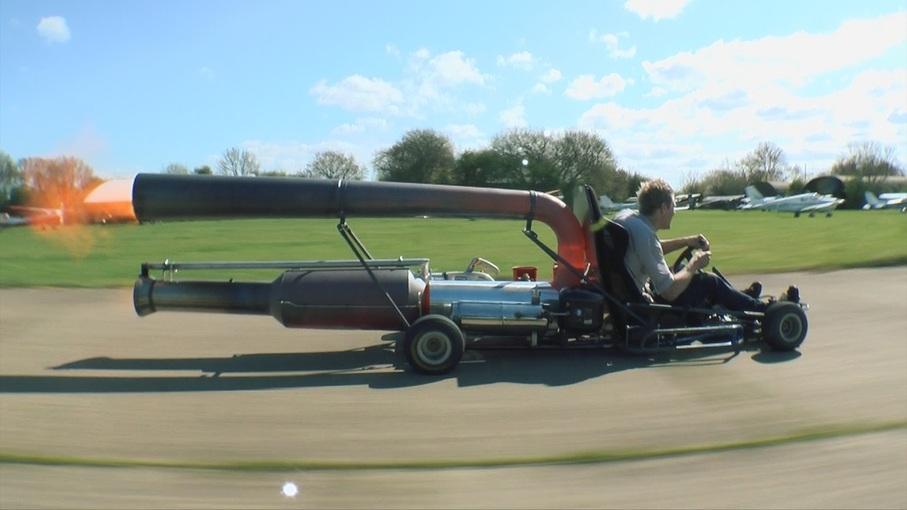 Jet Go-kart Colin Furze 01
