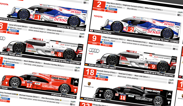 2014 24 Hours of Le Mans Spotter's Guide-1