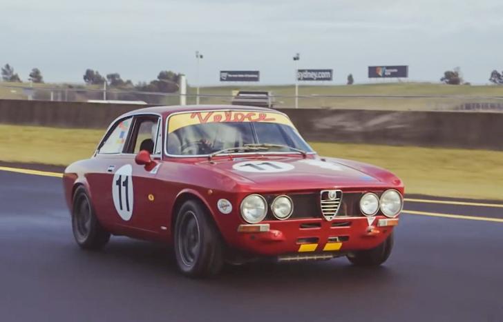 Video Alfa Romeo 1750 Gtv Race Car Crankandpiston Com