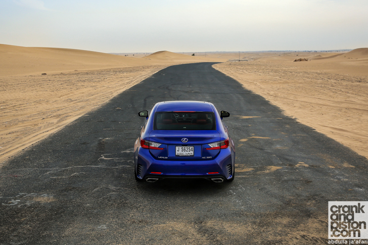 Lexus RC 350 F-Sport Management Fleet (June)-13