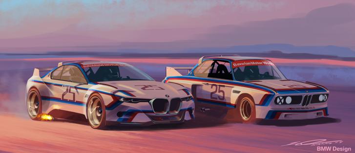 BMW 3.0 CSL Hommage R-08
