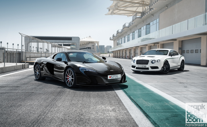 Bentley GT3-R vs McLaren 650S Spider-01