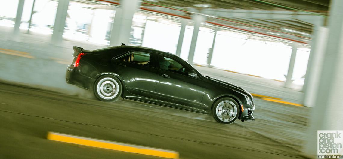 Cadillac ATS-V. 'Arriving Fashionably Early'