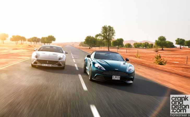 Ferrari California T vs Aston Martin Vanquish Volante-31