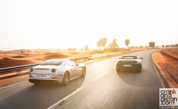 Ferrari California T vs Aston Martin Vanquish Volante-37
