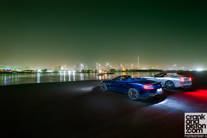 Ferrari California T vs Aston Martin Vanquish Volante-43