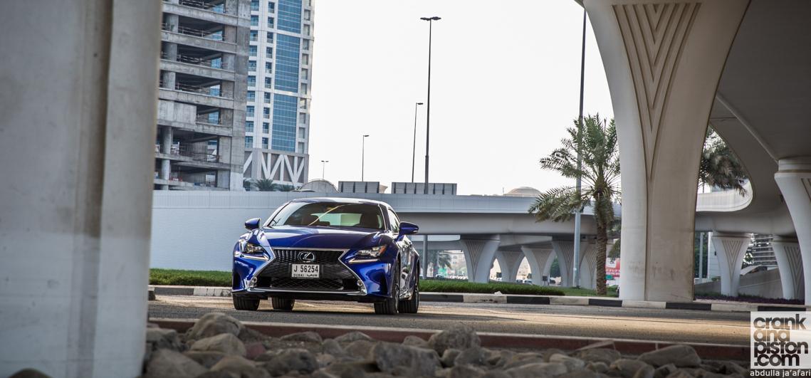 Lexus RC 350 F-Sport. End of term. Management Fleet