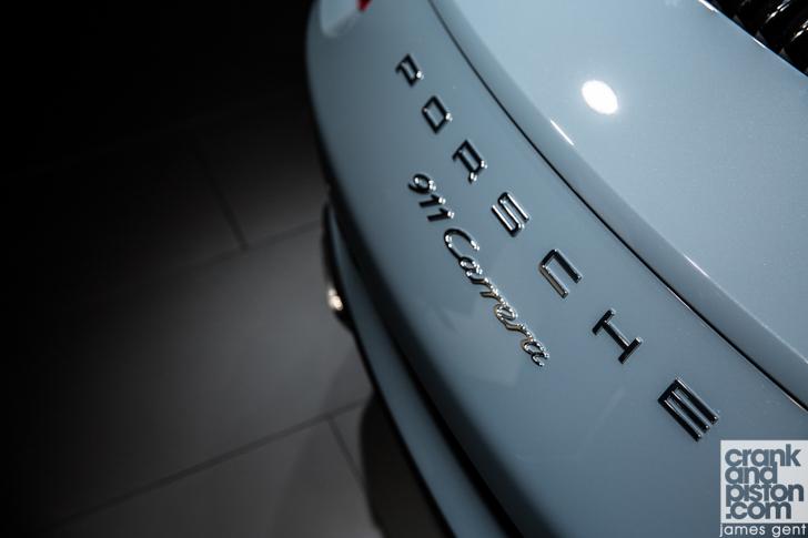 2015 Frankfurt Porsche 911 Carrera-4
