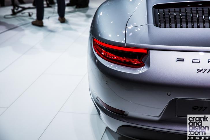 2015 Frankfurt Porsche 911 Carrera-9