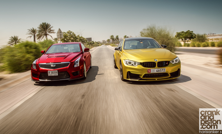 BMW M3 vs Cadillac ATS-V vs Mercedes-AMG C 63 S crankandpiston-46