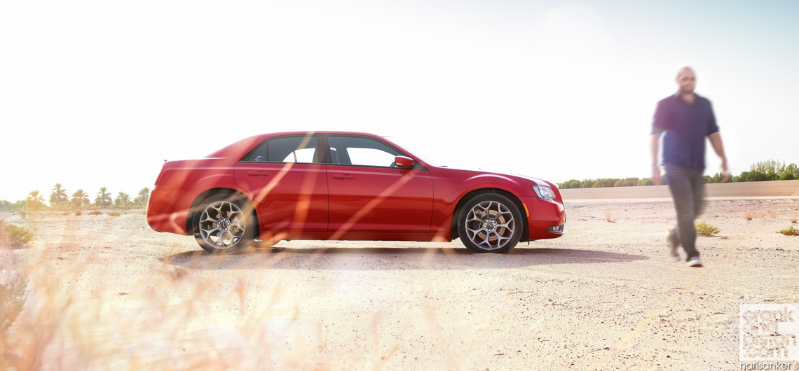 Chrysler 300S. REVIEW. Dubai, UAE