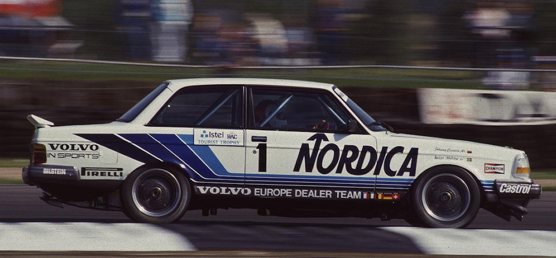 THROWBACK THURSDAY. Volvo 240 Turbo and 1980s touring cars