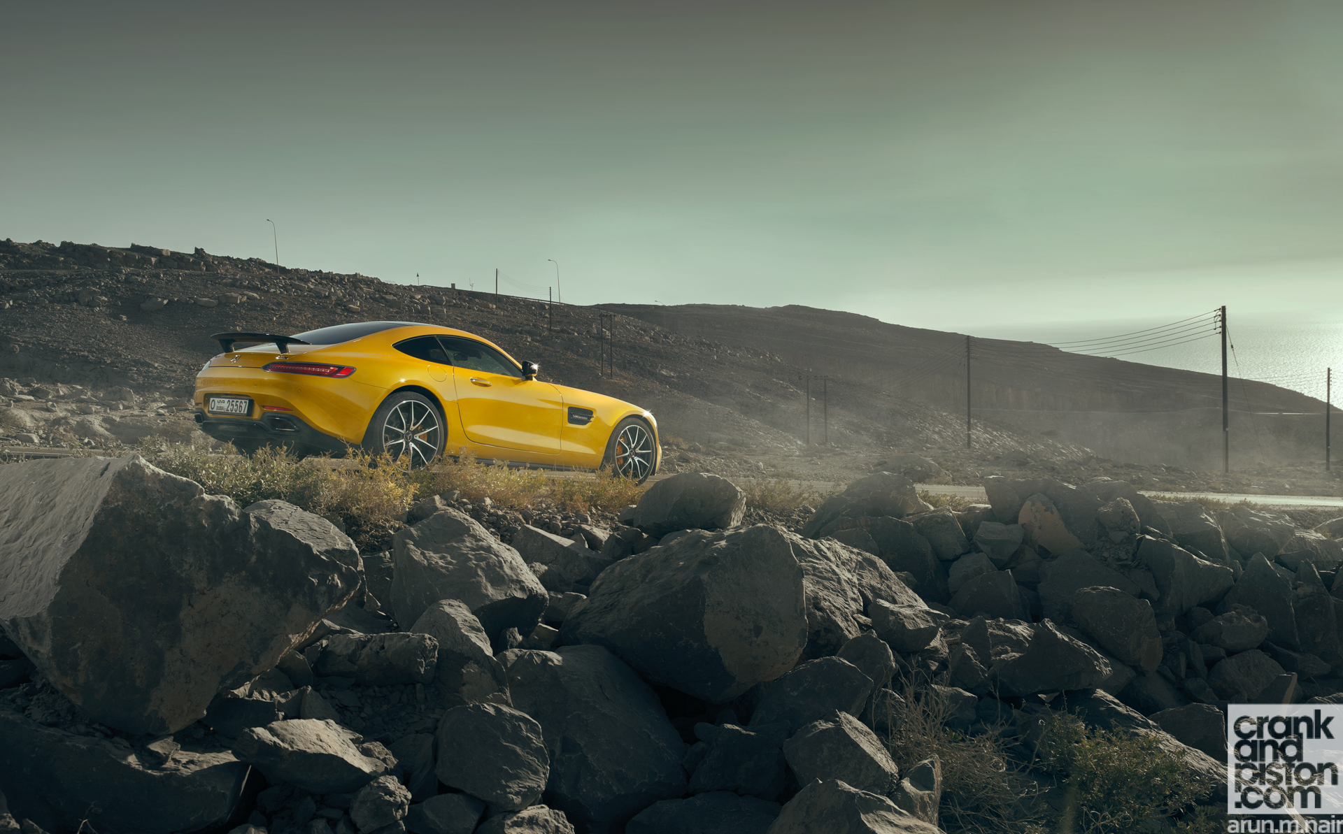 Mercedes AMG GT S Wallpapers-2