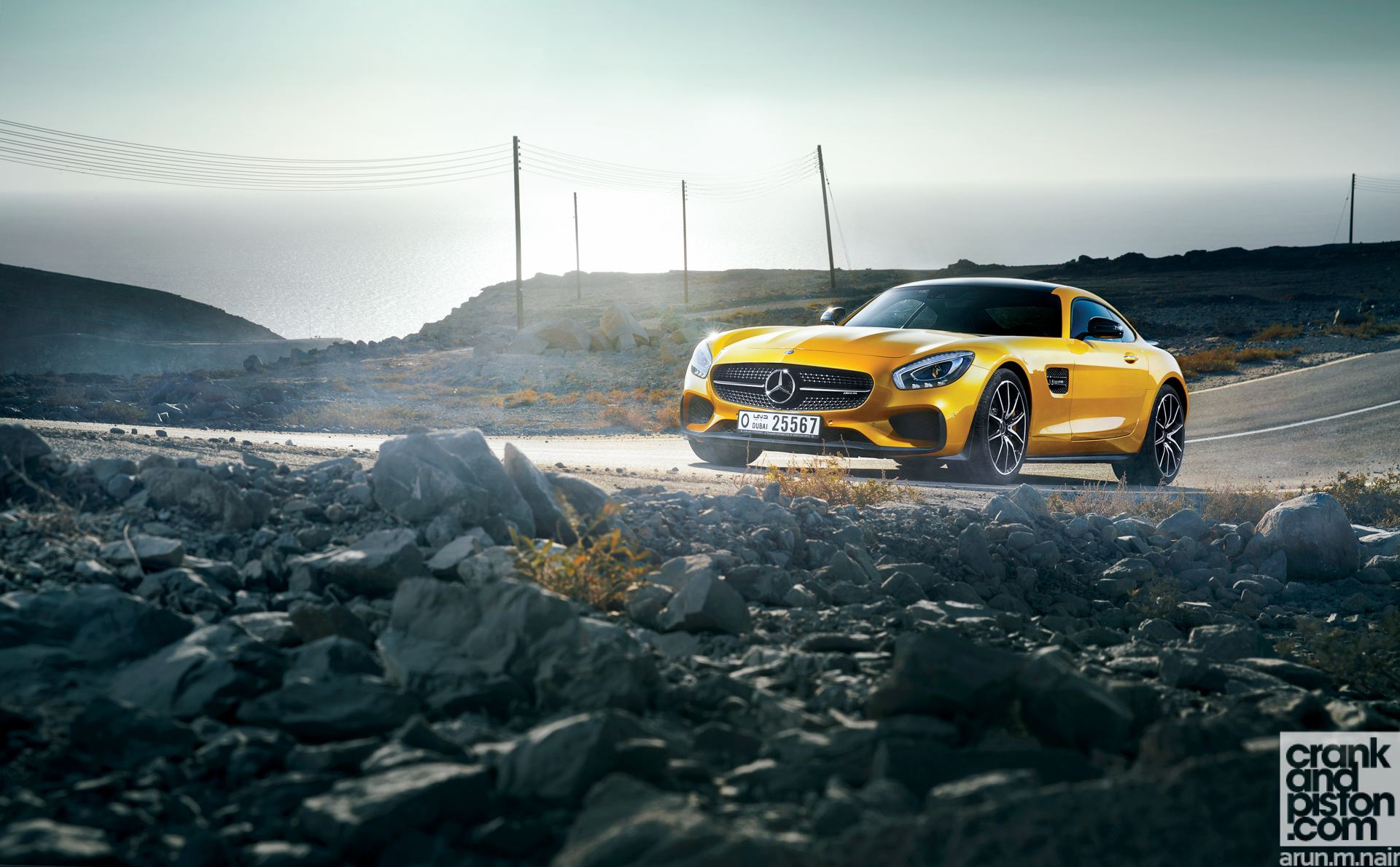 Mercedes AMG GT S Wallpapers-3