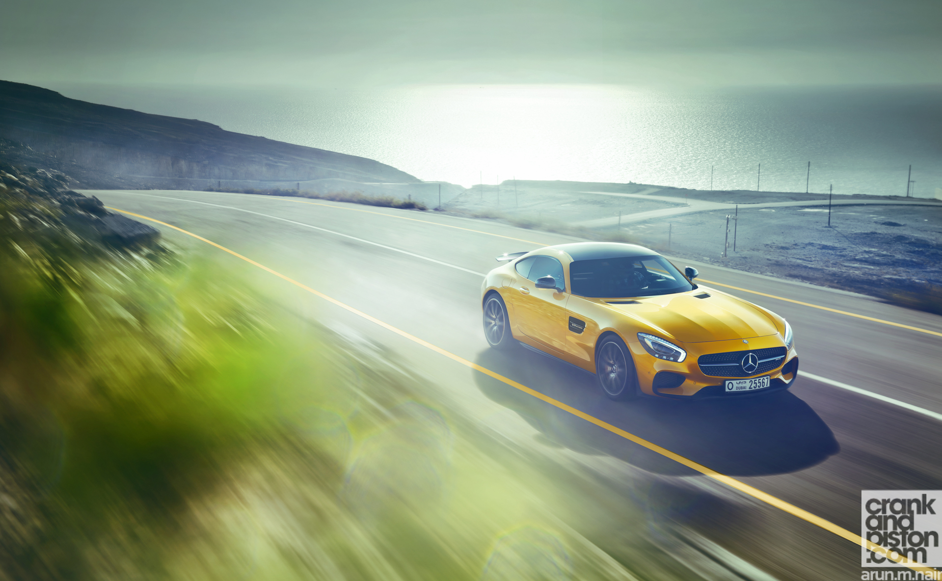 Mercedes AMG GT S Wallpapers-6