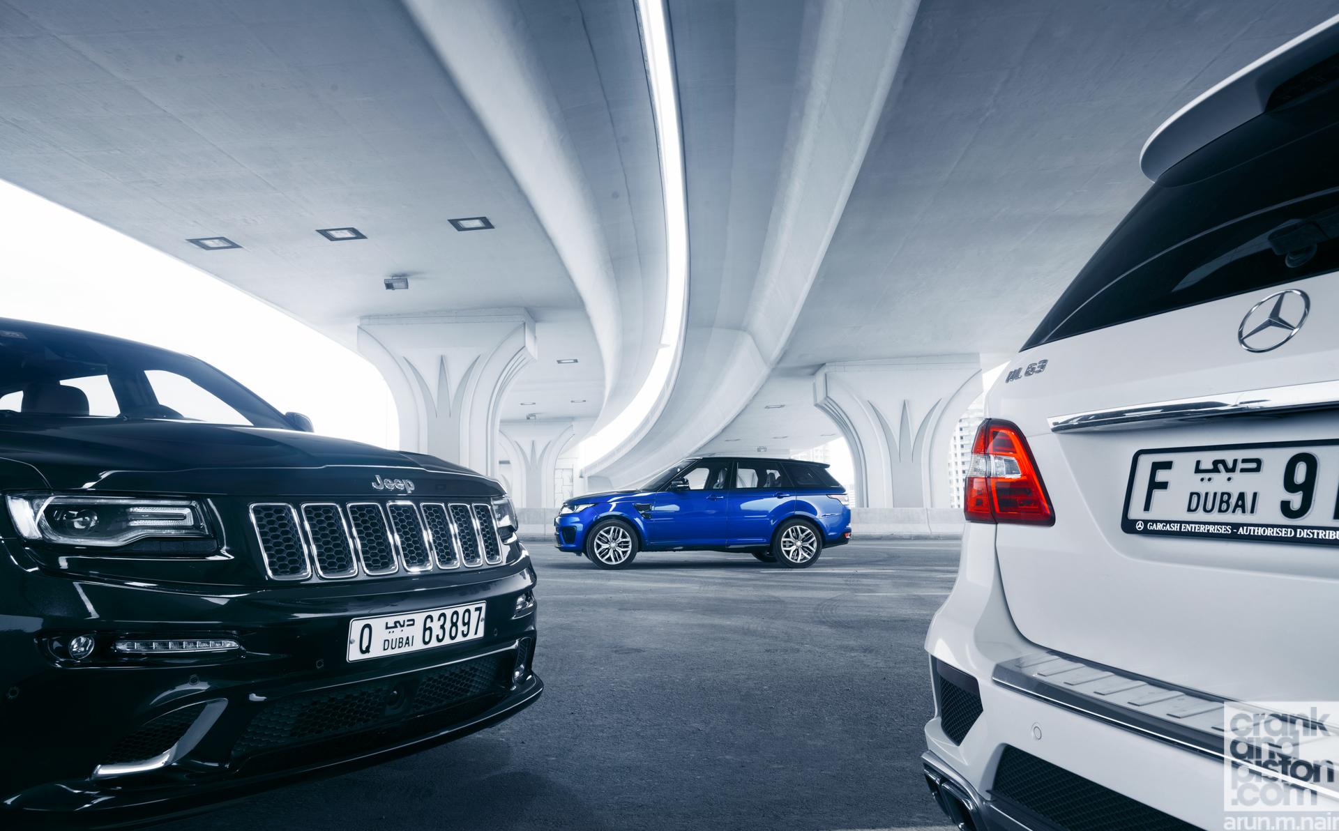 Range Rover vs Mercedes vs Jeep-5
