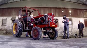 Drift tractor