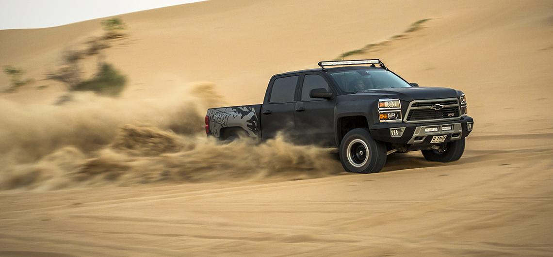 Chevrolet Silverado Reaper. REVIEW. Dubai, UAE