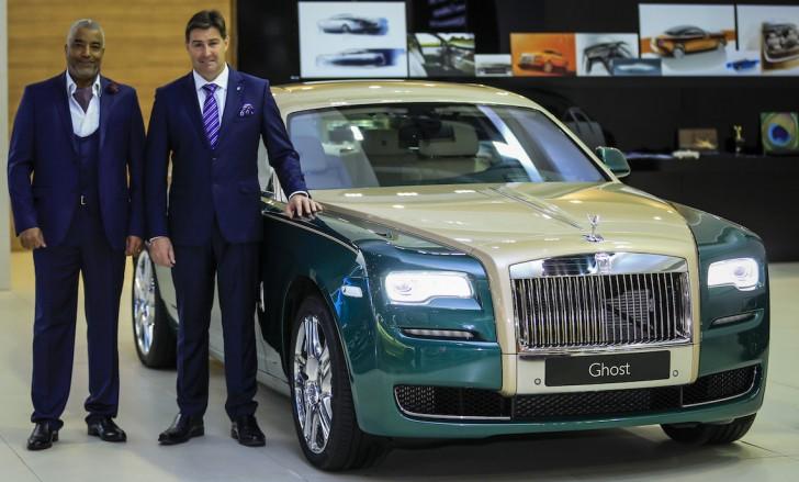 Rolls Royce Ghost Golf