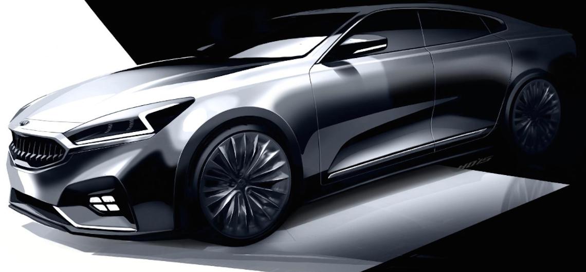 Kia Motors Previews Next Generation Cadenza