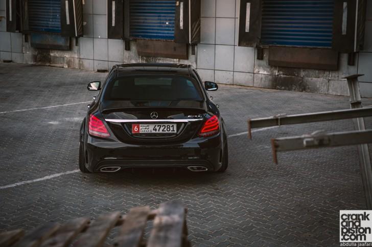 Mercedes C Class wide body