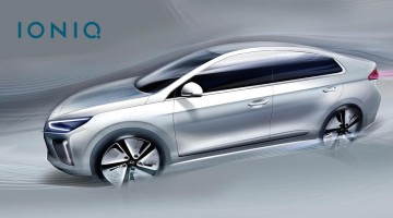 Hyundai IONIQ exterior teaser