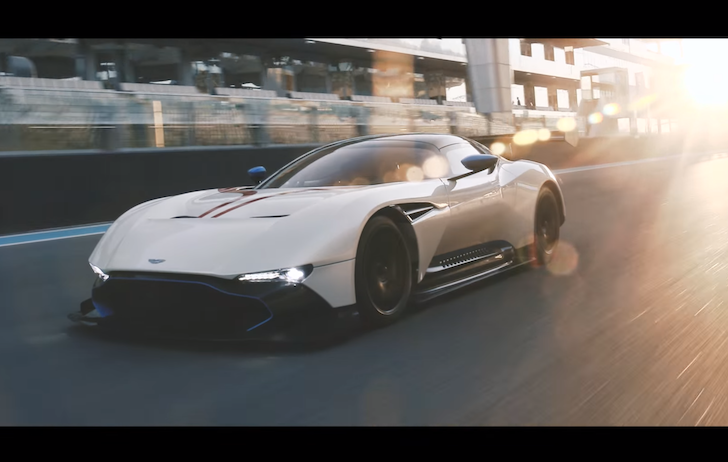 820bhp Aston Martin Vulcan Hits Yas Marina With Top Gear