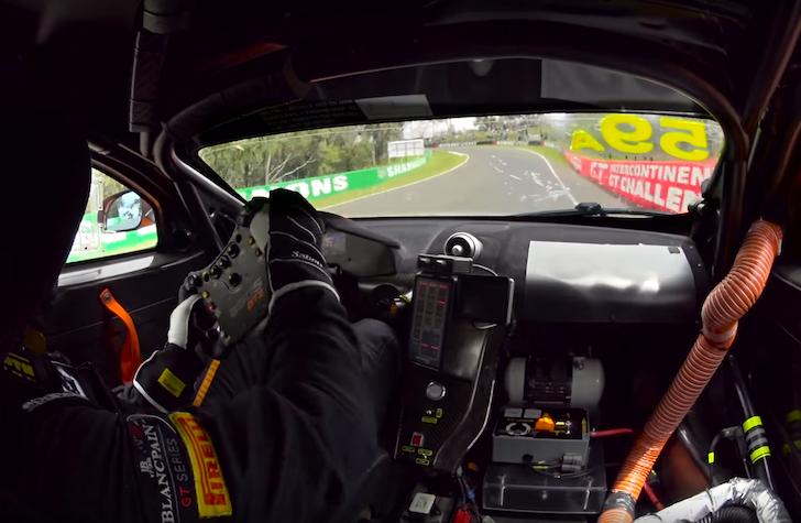 Bathurst 12 Hours 2016 Shane Van Gisbergen McLaren 650 GT3 02