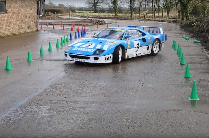 Ferrari F40 GT Tax The Rich 01