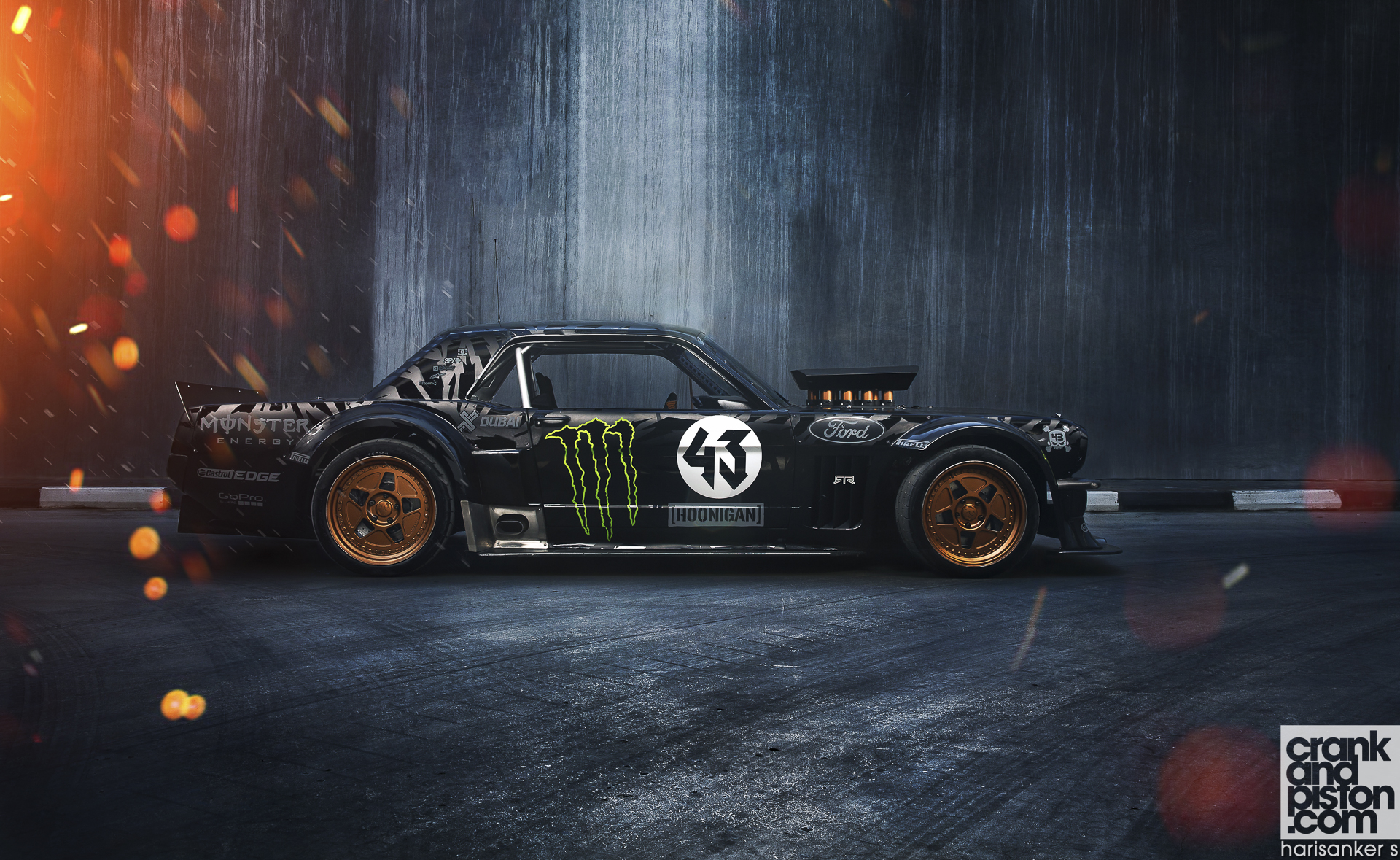 New Land Rover Discovery >> POSTER HEROES. No. 2 Ken Block's Hoonicorn ...